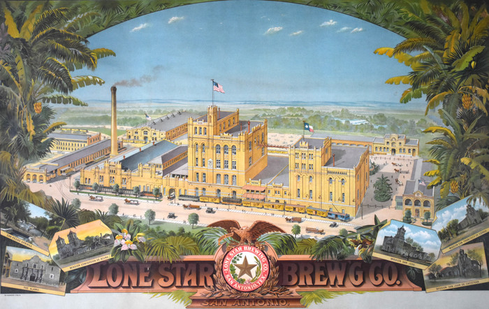 """Brew House"" The original Lone Star Brewery"