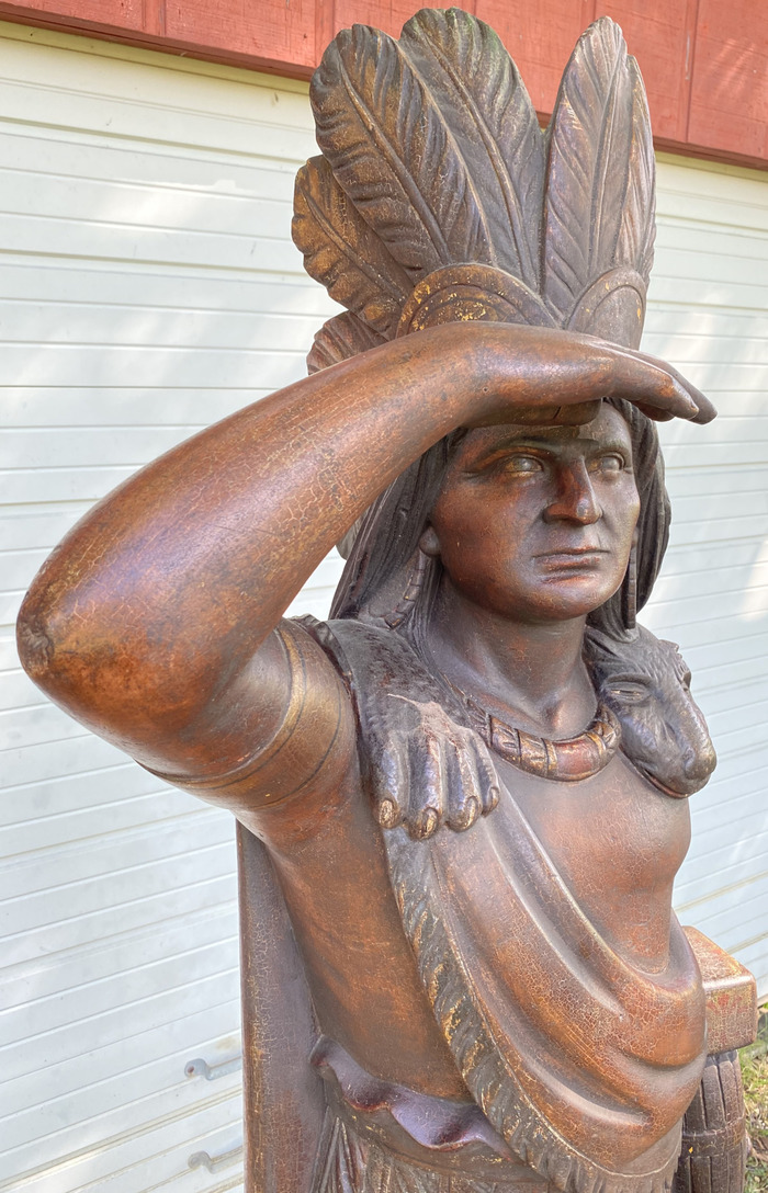 """Cigar Store Indian"""