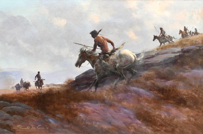 """""""Downhill On Horseback"""""""