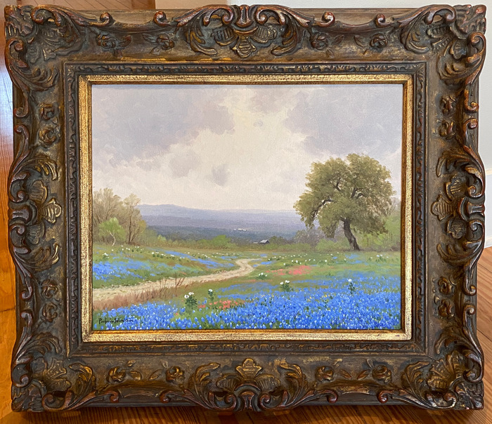 """Texas Hill Country Blues""  Bluebonnet"