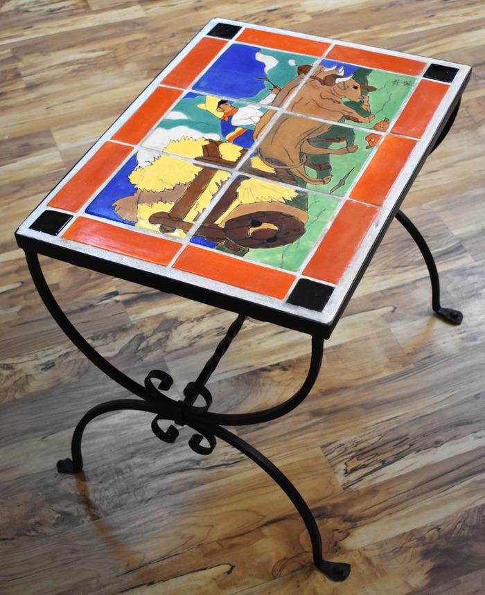 """6 Tile Table"""
