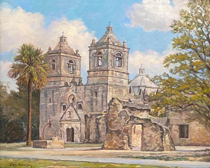 """Mission Concepcion"" San Antonio Texas"