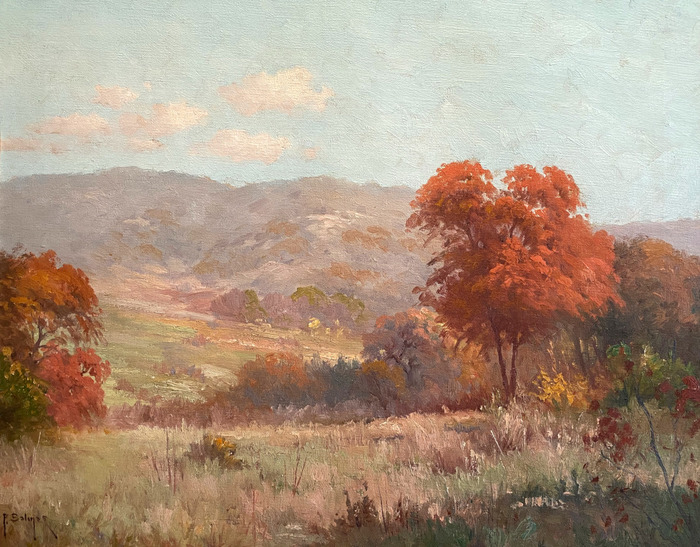 """""""Early Hill Country Fall"""""""