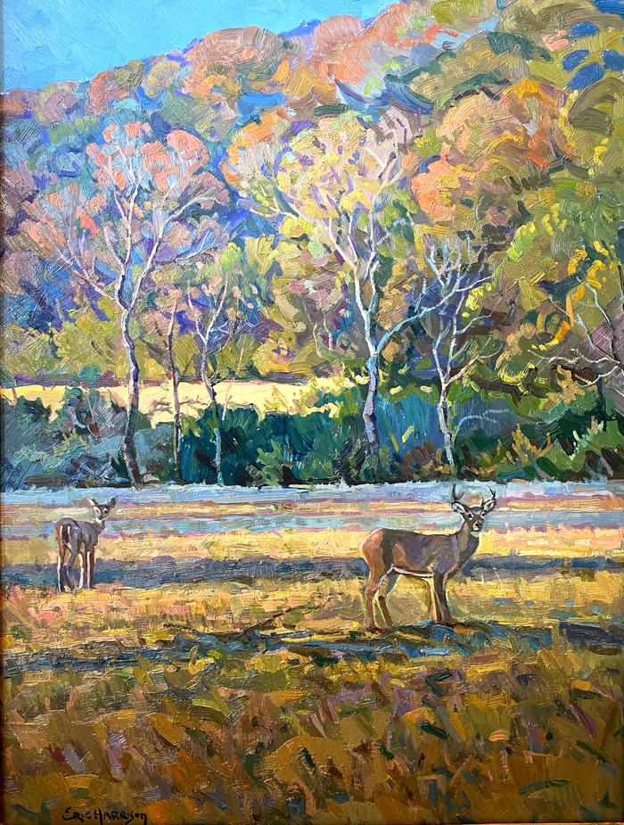 """""""HIRSCH IN HERBSTFARBEN"""" Deer In Fall Colors"""