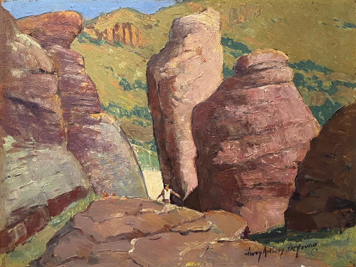 """""""Rock In Upper Limpia Canyon"""" Near Fort Davis"""