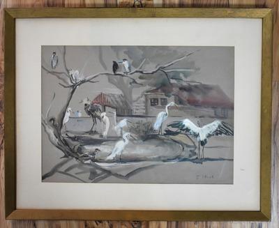 Birdsframed