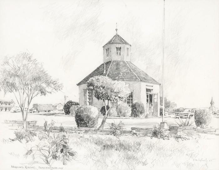 """Vereins Kirche"" Fredericksburg Texas"