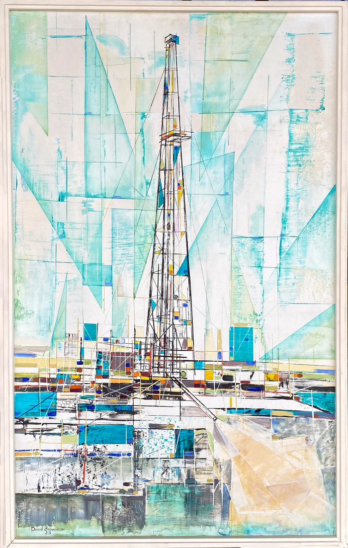 """""""Boom Town""""  Oil Rig"""