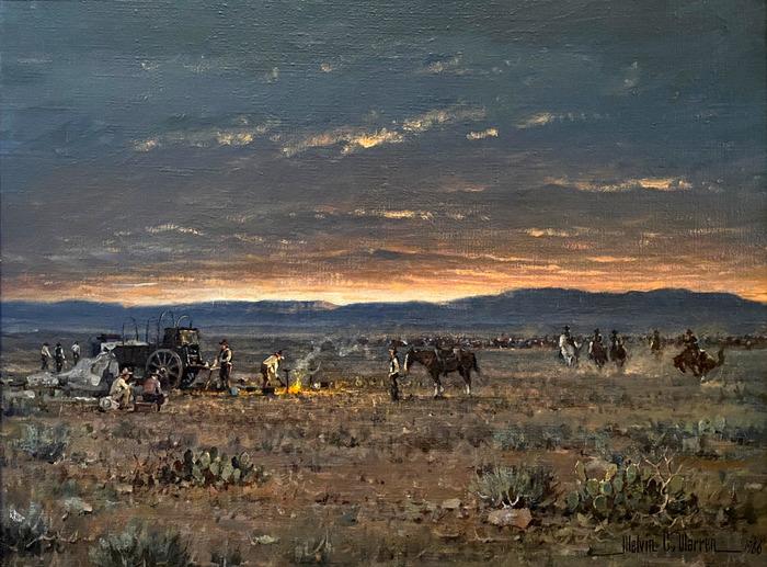 """Sunrise On The Texas Range"""