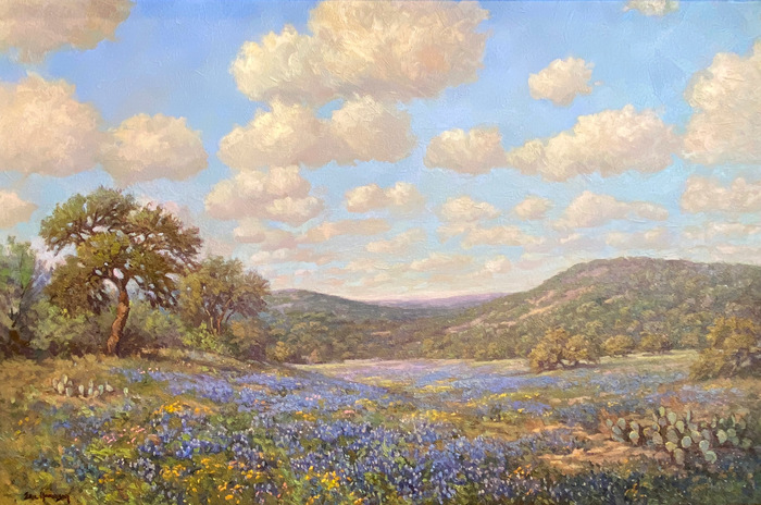 """""""Hill Country Rhythm And Blues""""  Bluebonnet"""