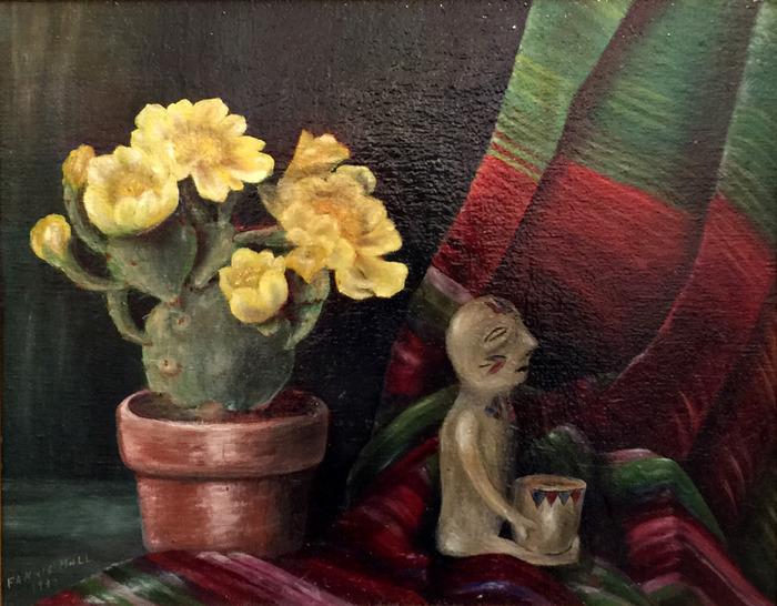 Blanket, Cactus Flower