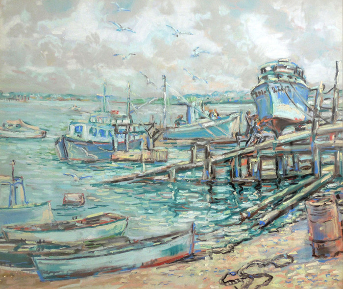 Fishing Boats, Galveston