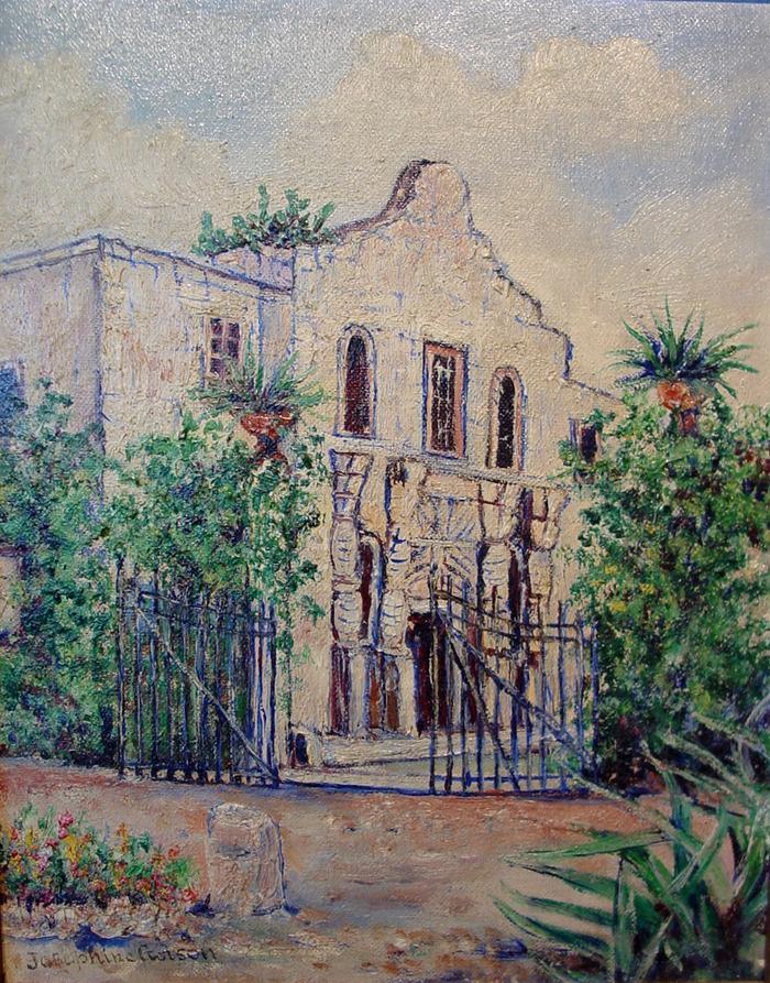 """San Antonio Mission """"The Alamo"""""""