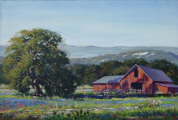 Bluebonnet Farm House