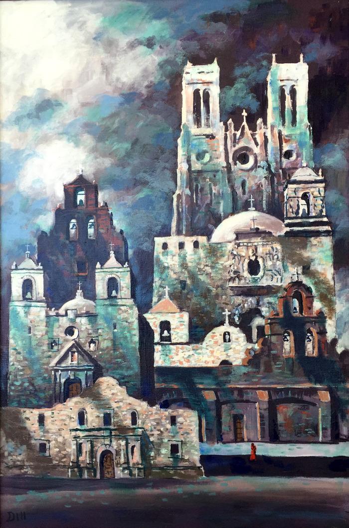 San Antonio Missions Collage