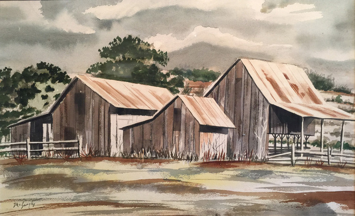 """The Old Barns"""