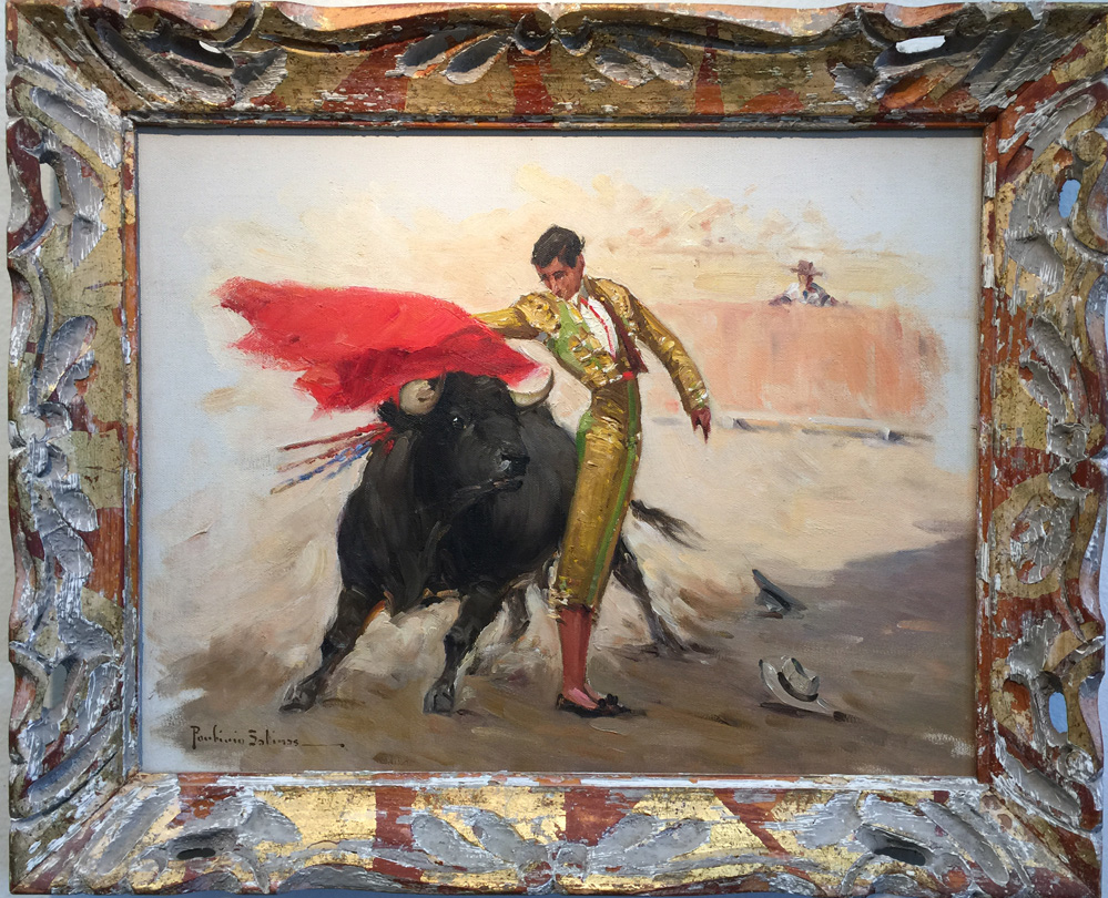 Porfirio Salinas Bullfighter 695 Texas Art