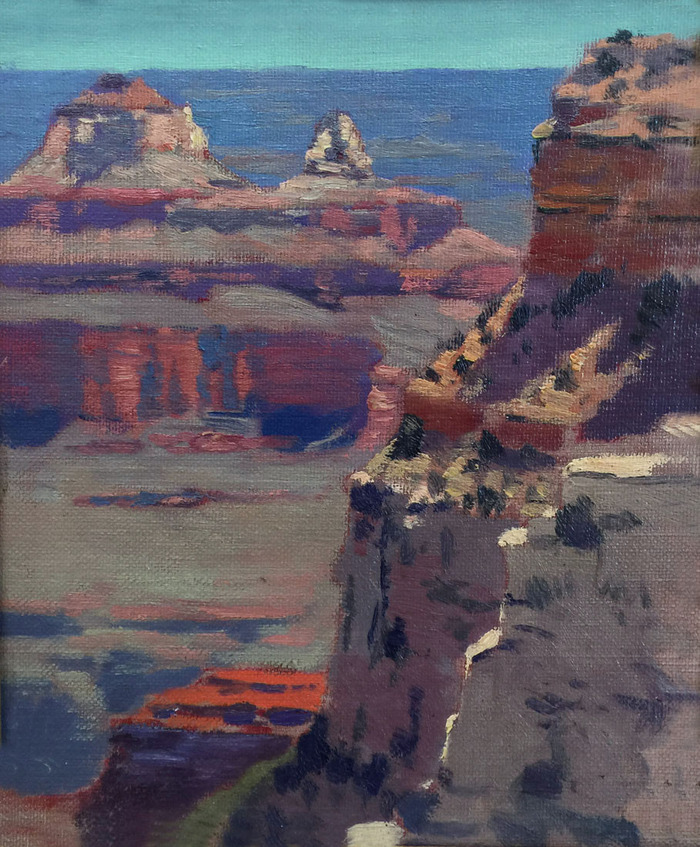 """Grand Canyon II Below the Rim"""