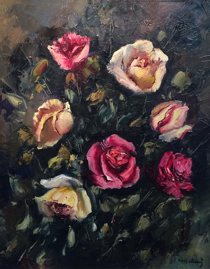 """""""Rosas"""" Por Vives Atsara"""
