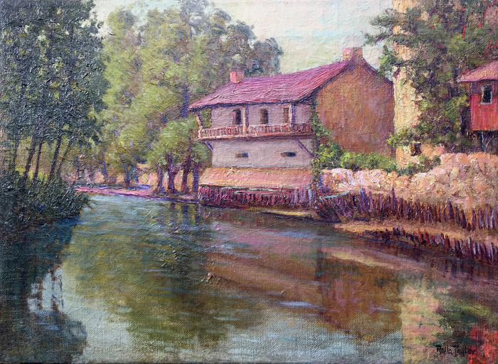 """John Twohig Office on the San Antonio River"""