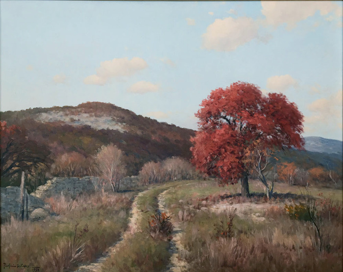 """Texas Hill Country Fall"""