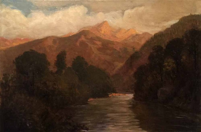 Hills and River