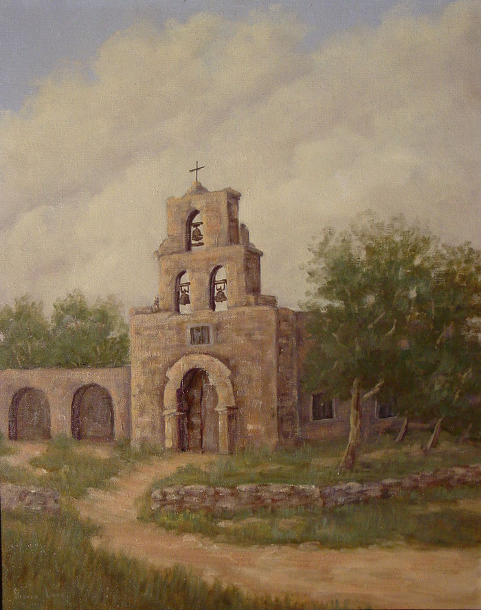 Vivian Love Mission Espada In San Antonio 91 Texas