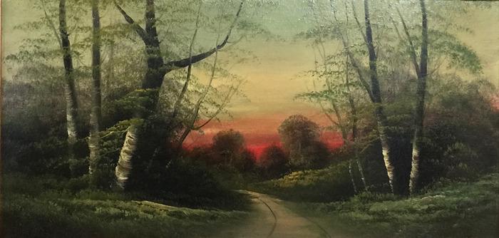 """"""" Sunset Buckeye """""""