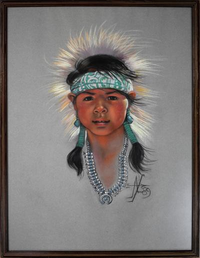Nativegirlframed