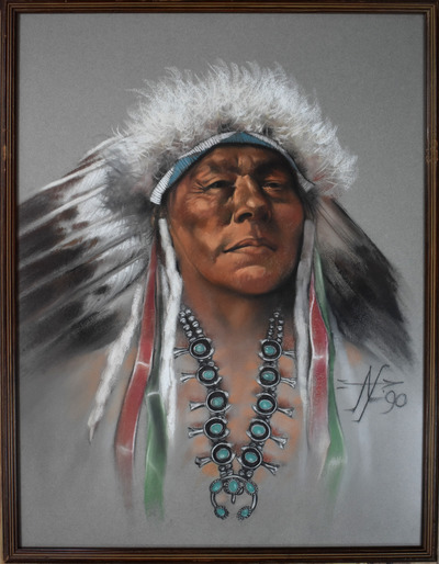 Nativechiefframed