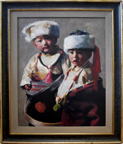Twochildrenframed
