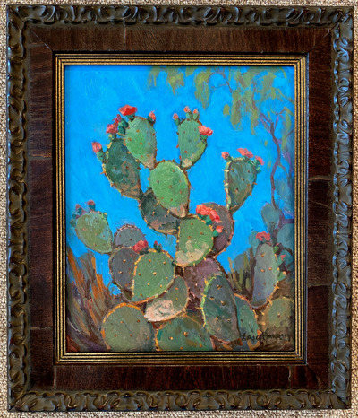 Cactuswithcoralredblooms2