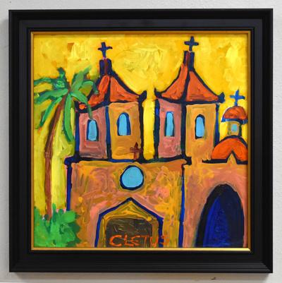 Orange_church_framed