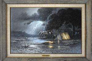 Stormandthehunterscampframed