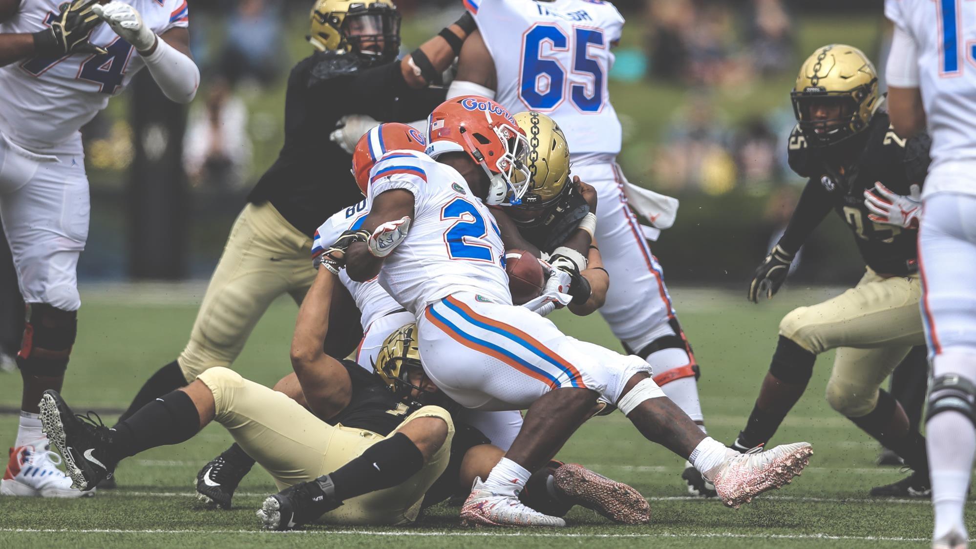 Vanderbilt defense vs. Florida