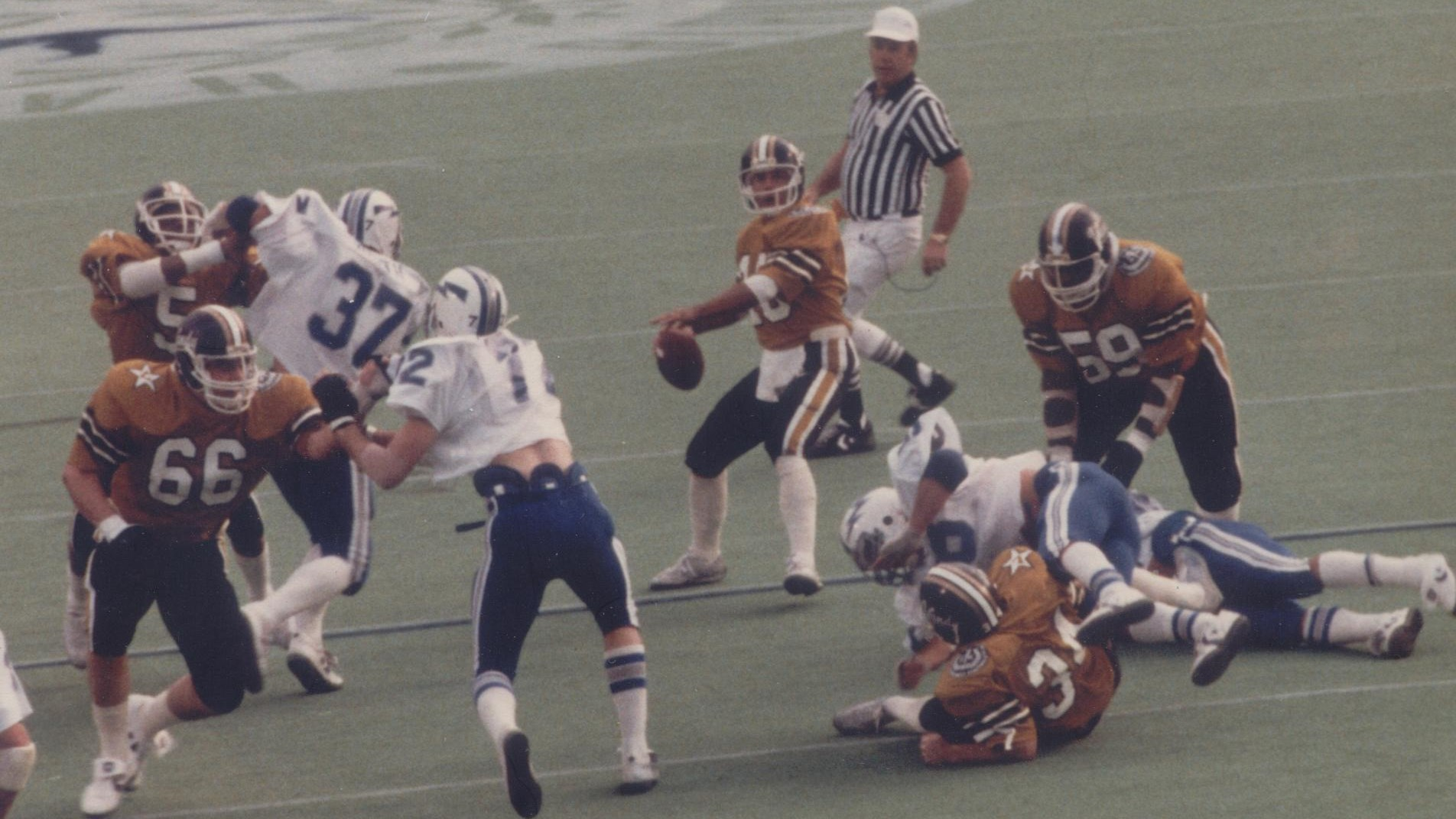 Whit Taylor 1982 Hall of Fame Bowl