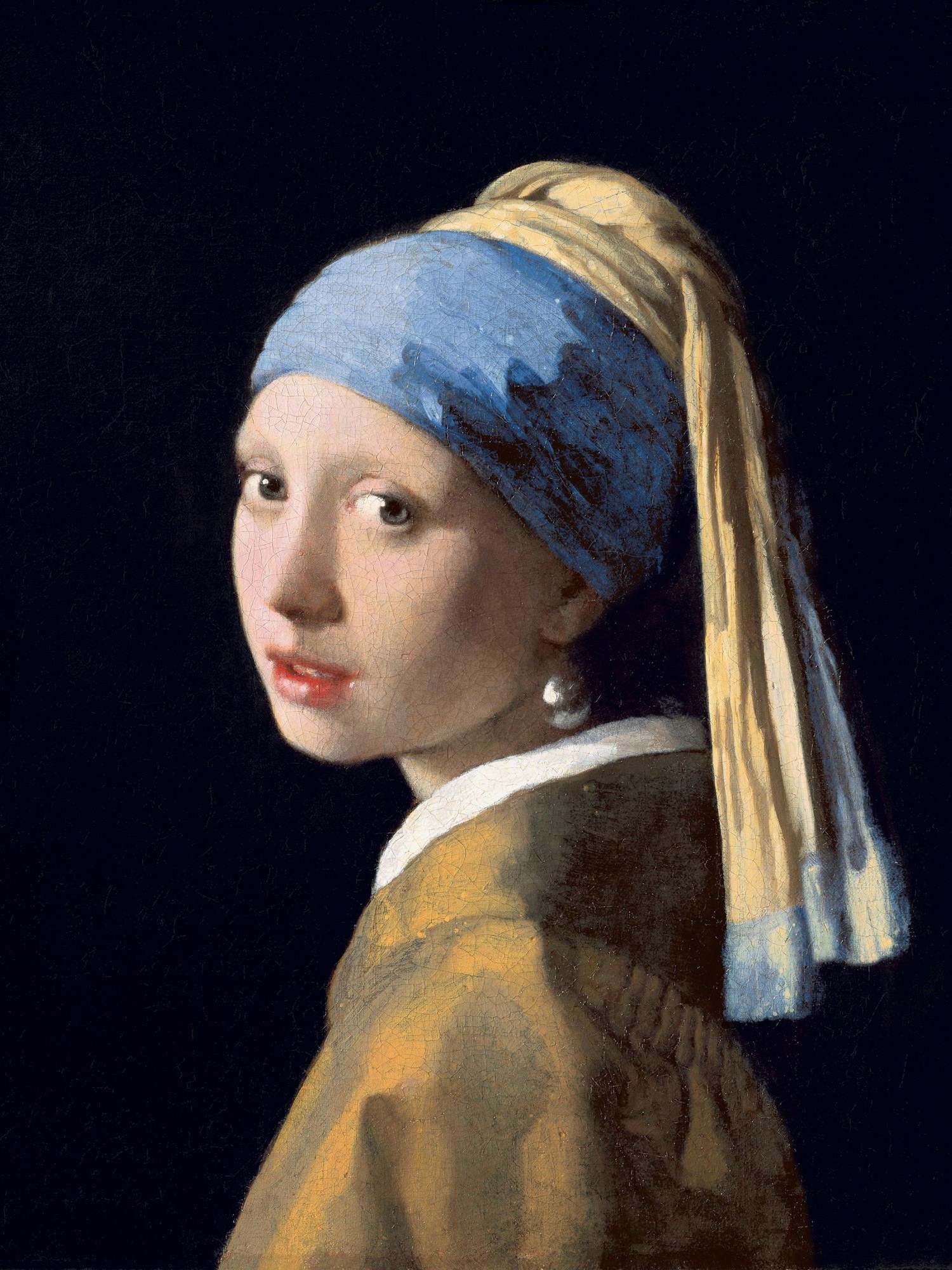 Vermeer 670 Girl With A Pearl Earring 2