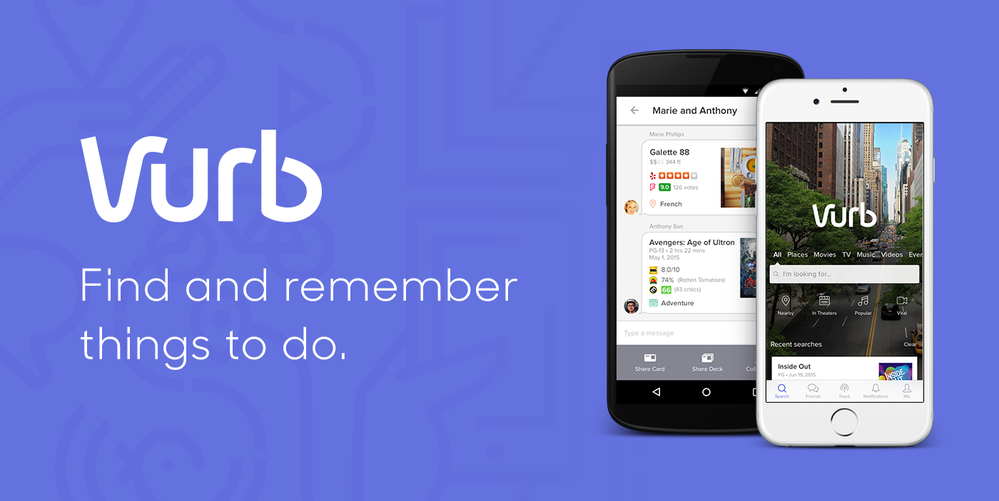 Vurb: Find and save things to do