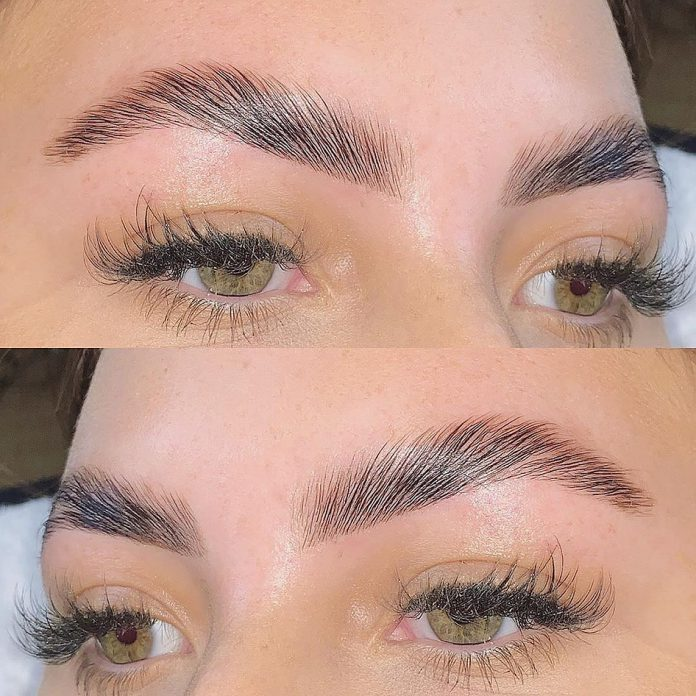 Forget Microblading: Brow Lamination Is the Secret To Thick, Fluffy, Instagram-Worthy Brows
