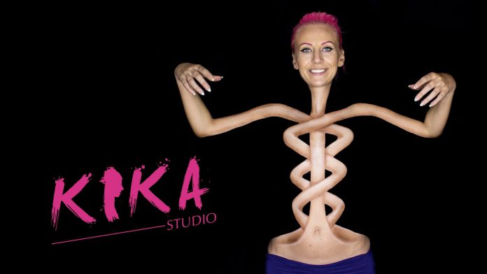 Talented Makeup Artist Creates Twisted Body Painting Illusion
