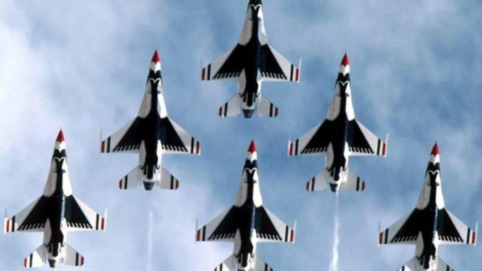 Thunderbirds To Honor Las Vegas COVID-19 Front-Line Workers With Flyover