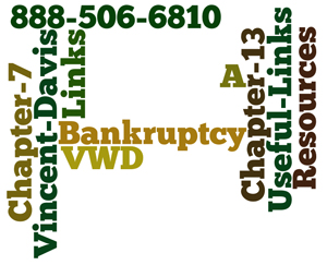 Useful Bankruptcy Links and Resources