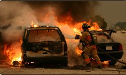 Auto Fire Burn Injury Lawyers - California Personal Injury Lawyers