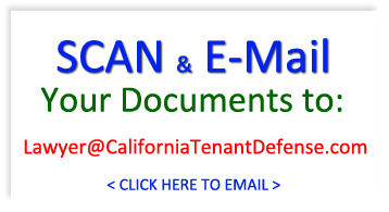 California Tenant Defense Email Address: Lawyer@CaliforniaTenantDefense.com
