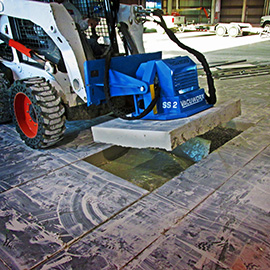 Vacuworx SS 2 Vacuum Lifting System Offers New Lifting Solution for Skid Steers