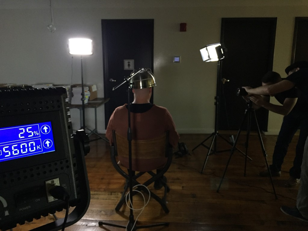 Making of Vidyard Halloween Video - Electrocute