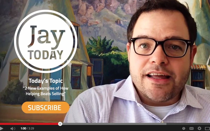 Jay Today is a terrific video marketing series