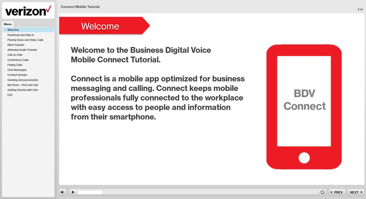 NEW Business Digital Mobile Connect App - Tutorial - Verizon