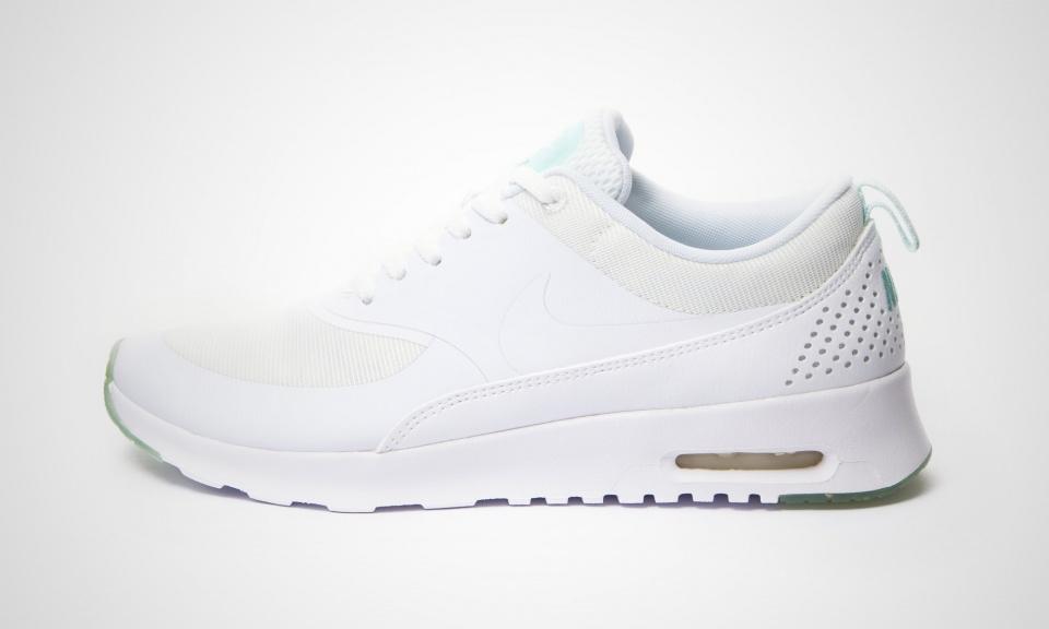 Nike Air Max Thea Weiß Grau Glitzer