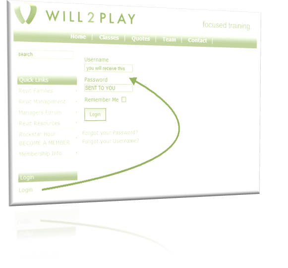 Login Image page of Will2Play Inc